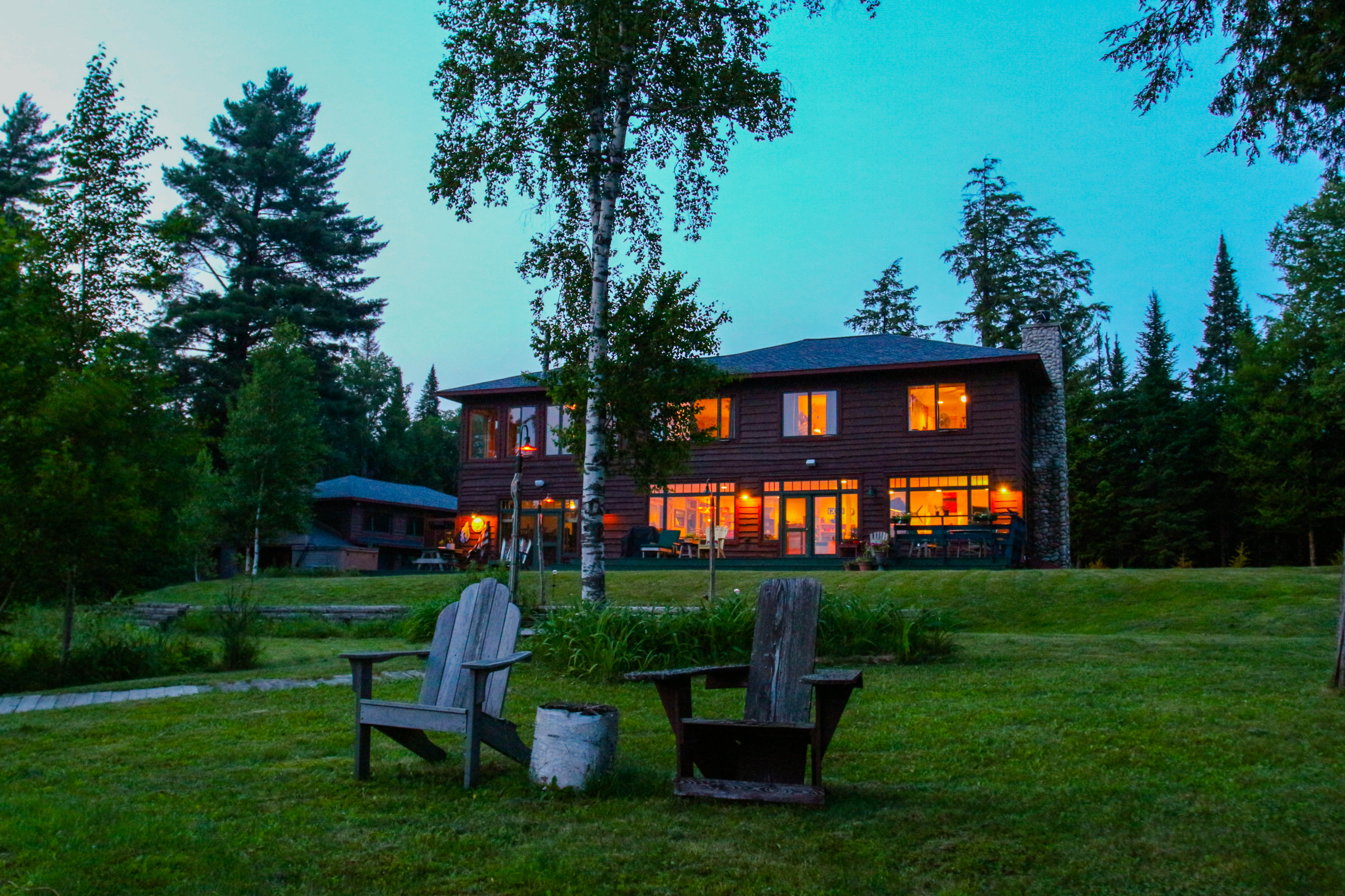 maine waterfront in facility cottages for banquet center sale