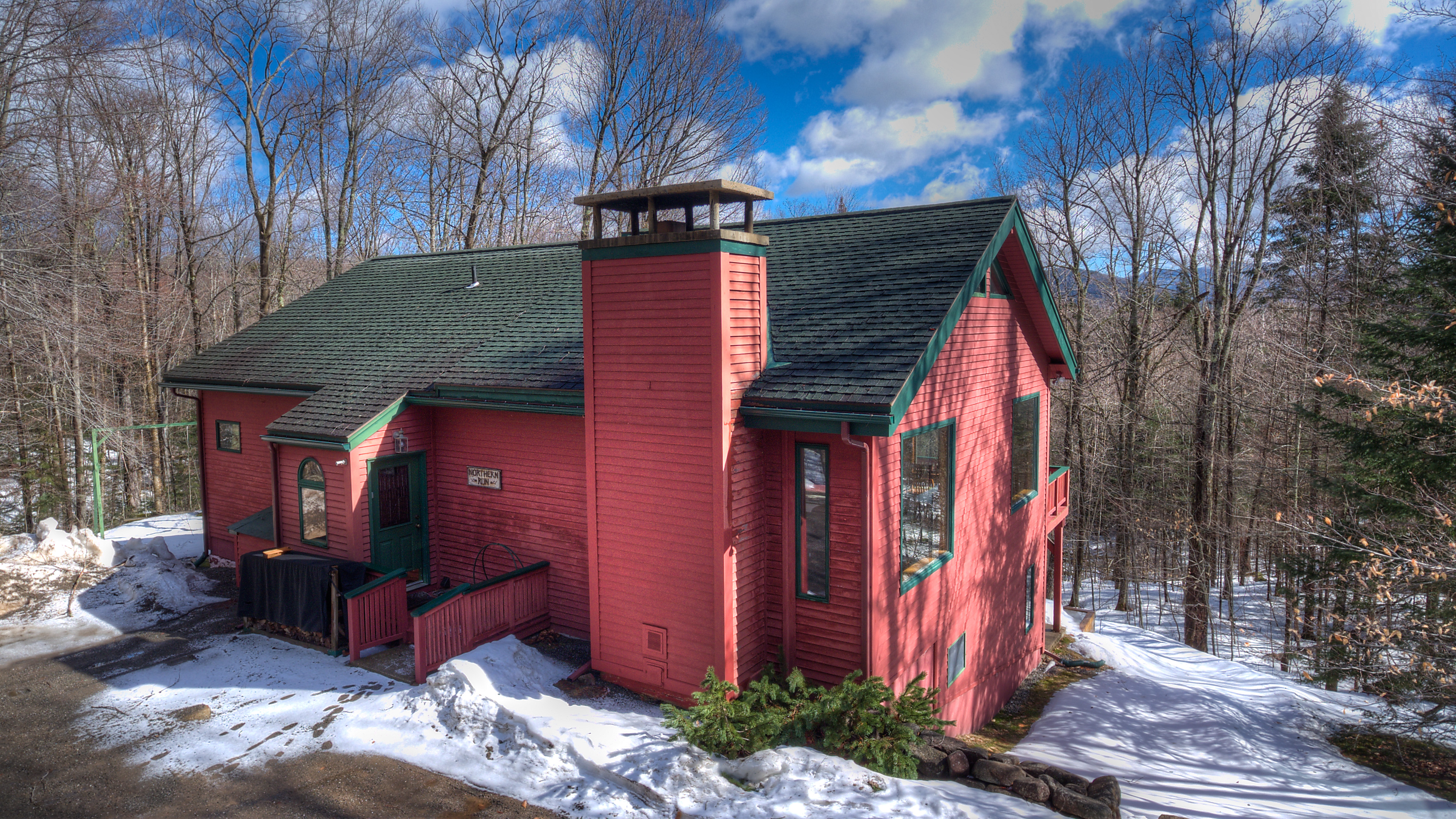 five cabins view mountain lodge bedroom rentals adirondacks cabin located in bears