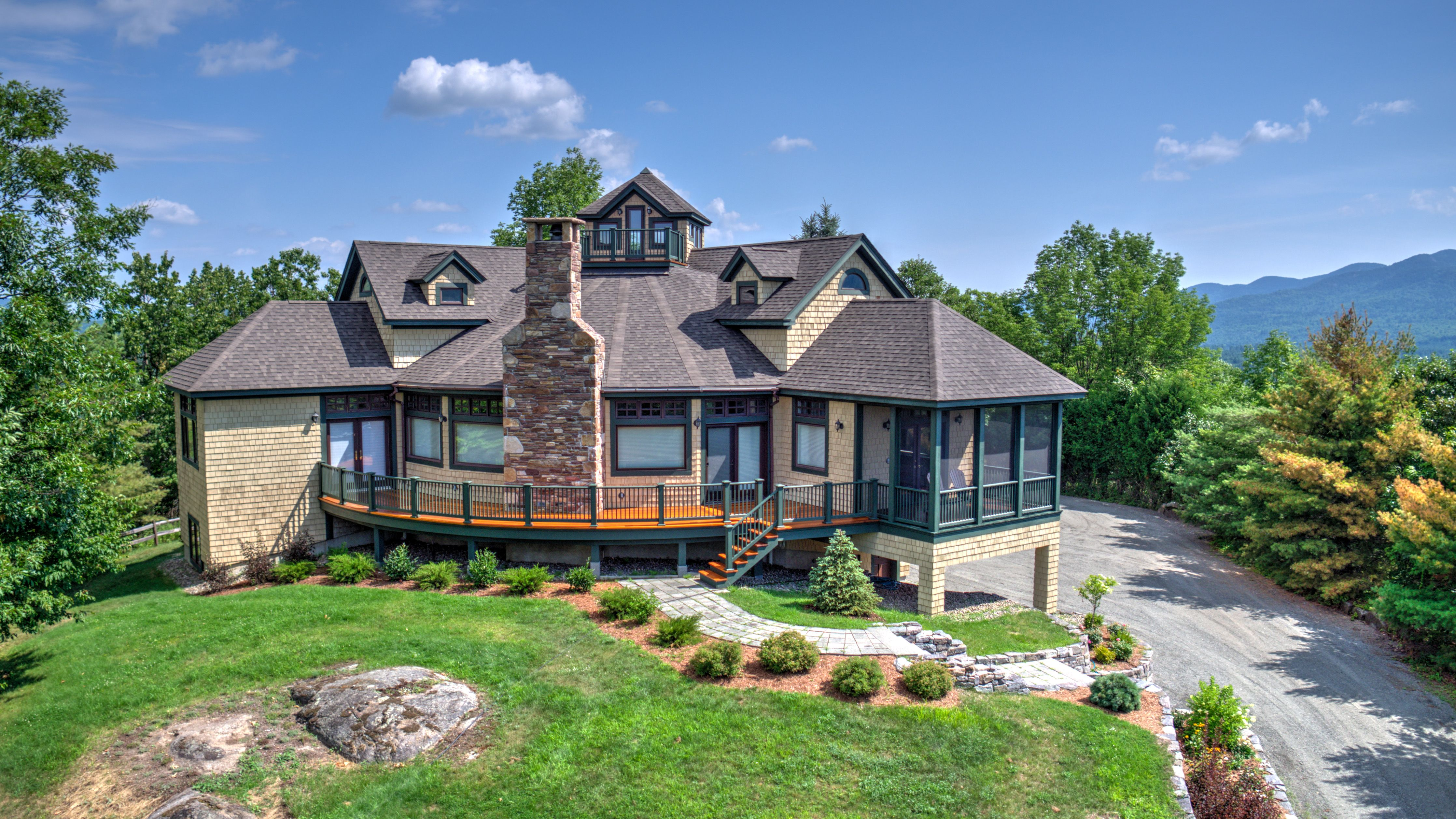 Whatever you are searching for is here one story homes luxury home - Veith Mountain Jay Ny Veith Mountain Custom Home