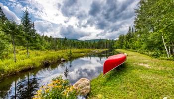 Camp Bear Meadow Pond - St Regis Falls, NY