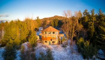 Adirondack Round House - Lake Placid, NY