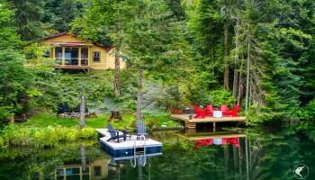 Drain Pond Cottage - Owls Head, NY