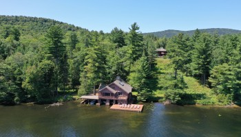 Boathouse with Main Camp Behind