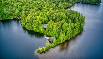 Big Wolf Lake Family Compound - Tupper Lake, NY