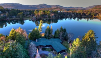 Adirondack Hideaway on Mirror Lake - Lake Placid, NY