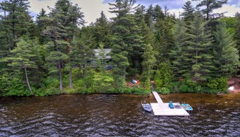 Big Wolf Lake Camp Compound - Tupper Lake, NY