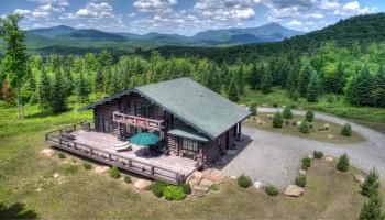 Camp Roaring Brook aerial view