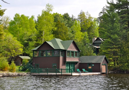 Historic Pine Point Camp on Upper Saranac Lake - Upper Saranac Lake, NY