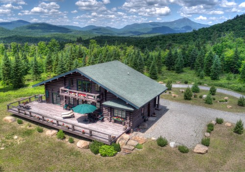 Camp Roaring Brook aerial view