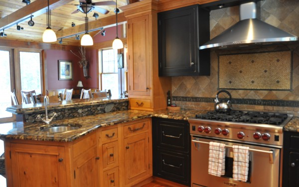 Kitchen: Stainless Appliances
