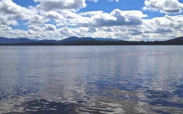 View of Upper Saranac Lake