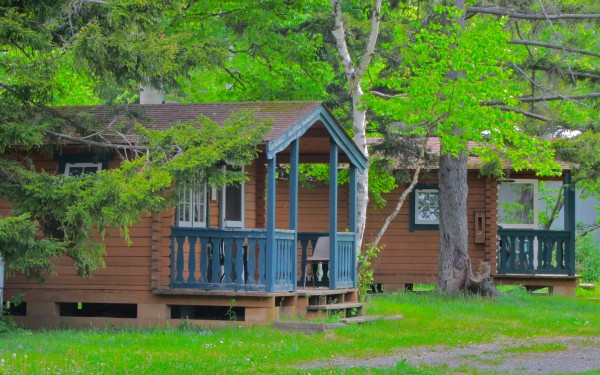 Nice Cabins with bunks
