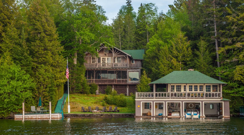 Camp irondequoit merrill l thomas inc real estate for Wilmington ny cabin rentals
