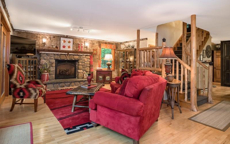Living room - photo credit: John DiGiacomo, Placid Time Photography