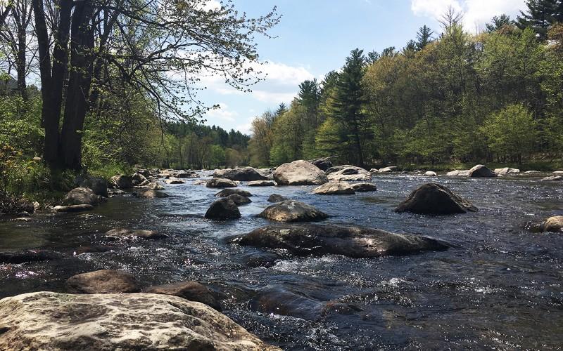 Adirondack Riverfront Property
