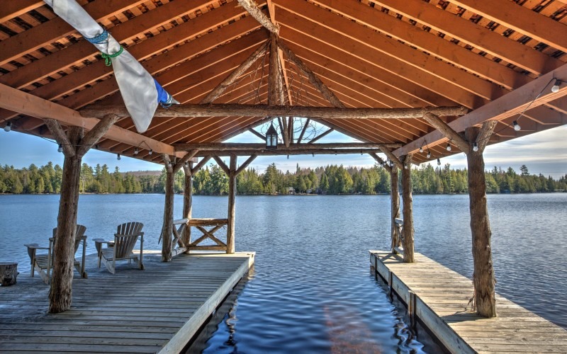 Boat House view