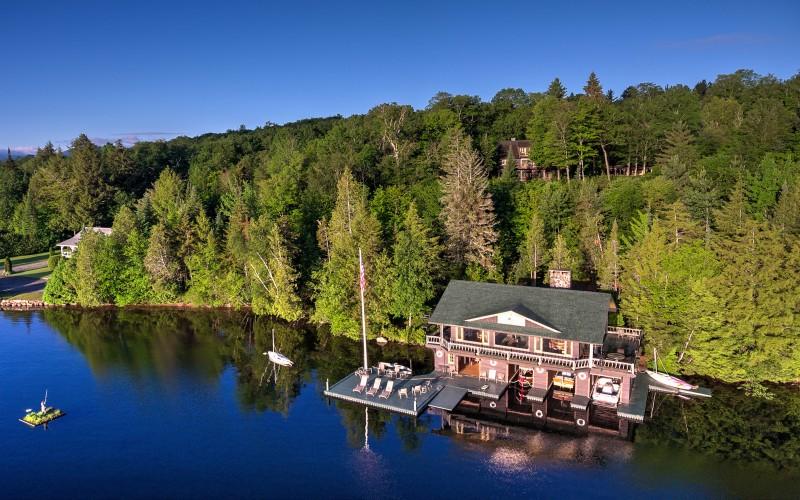 Camp Midwood on Lake Placid, NY