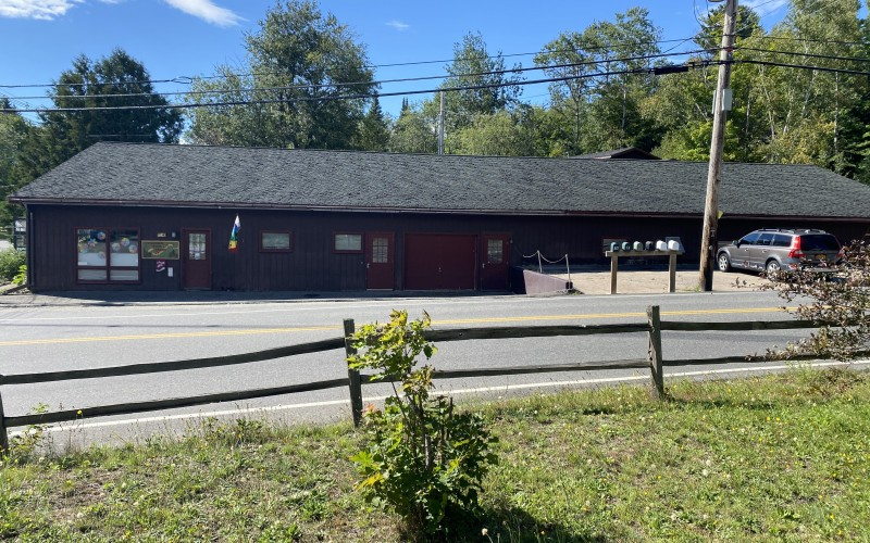 Corner commercial lot at Wesvalley and Mill Pond Drive