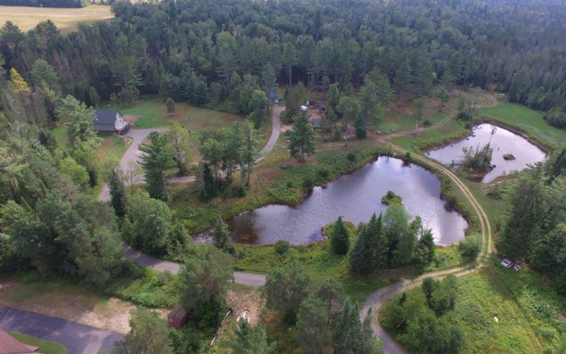 12.5 acres with two ponds