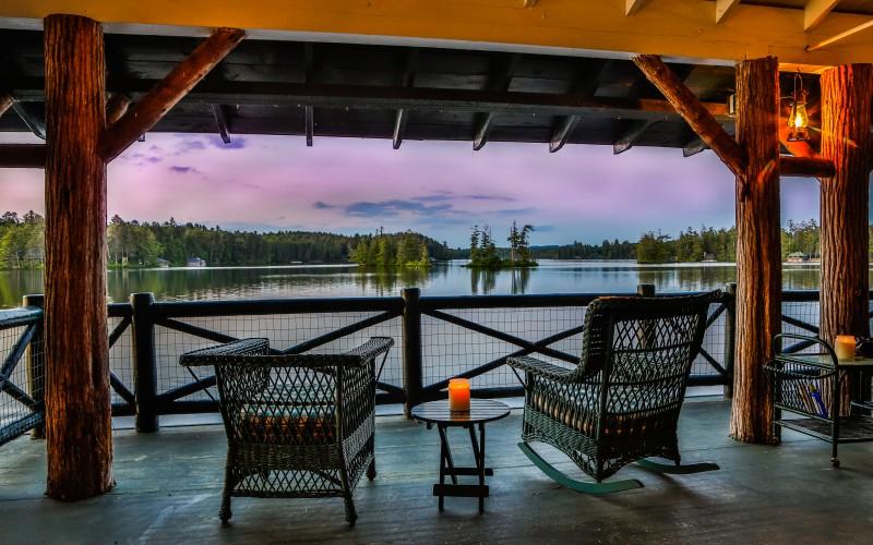 Camp Woodmere on Upper St. Regis Lake