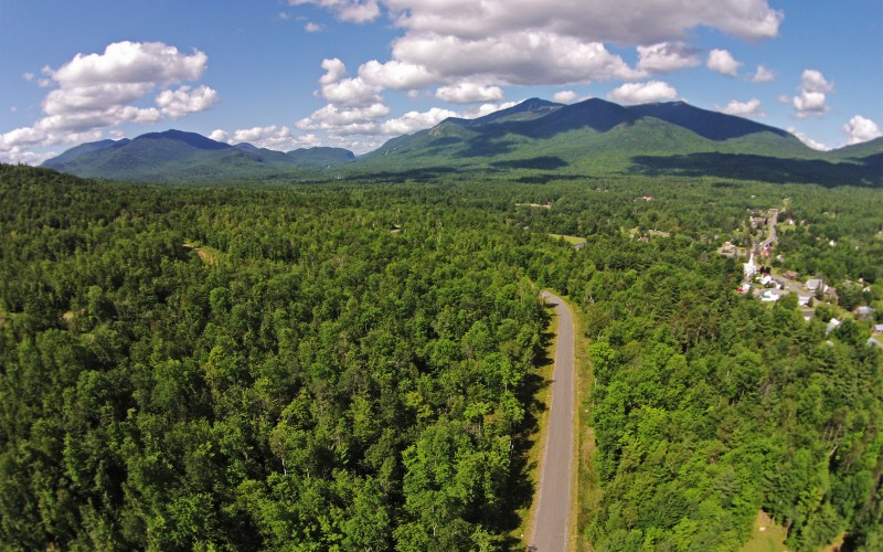 Aerial View of Whiteface Outlook