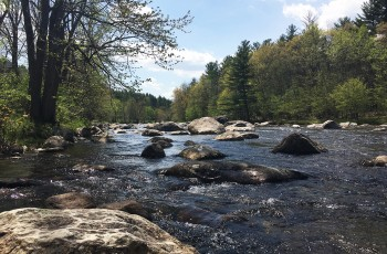 Down by the River - Upper Jay, NY