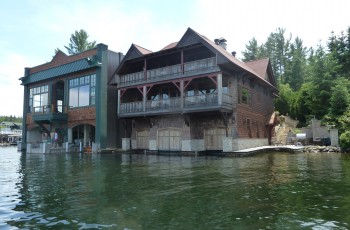 Brown Boat House
