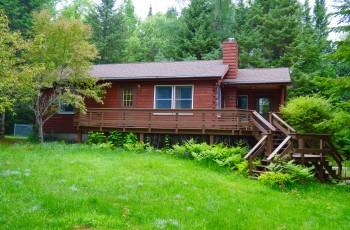 Lake Placid Log Home
