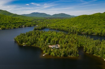 Horsehead Point Estate on Loon Lake