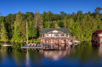 Camp Midwood Waterfront Estate - Lake Placid, NY
