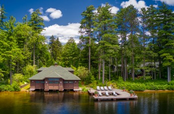 Butterfly Camp on Big Wolf Lake - Tupper Lake, NY