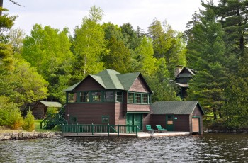 Historic Pine Point Camp on Upper Saranac Lake - Upper Saranac Lake