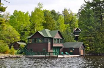 Historic Pine Point Camp on Upper Saranac Lake - Upper Saranac Lake
