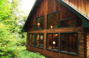 Lincoln Log Home - Tupper Lake, NY
