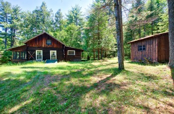 Hunting Camp on over 145 Acres in Jay