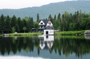 Round Lake Cottage - An Extremely Rare Waterfront Opportunity in Lake Placid! - Lake Placid, New York
