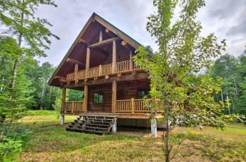 Montana Log Home in Wilmington - Wilmington, NY