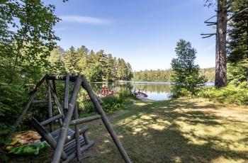 Oregon Pond Cabins - Onchiota, NY